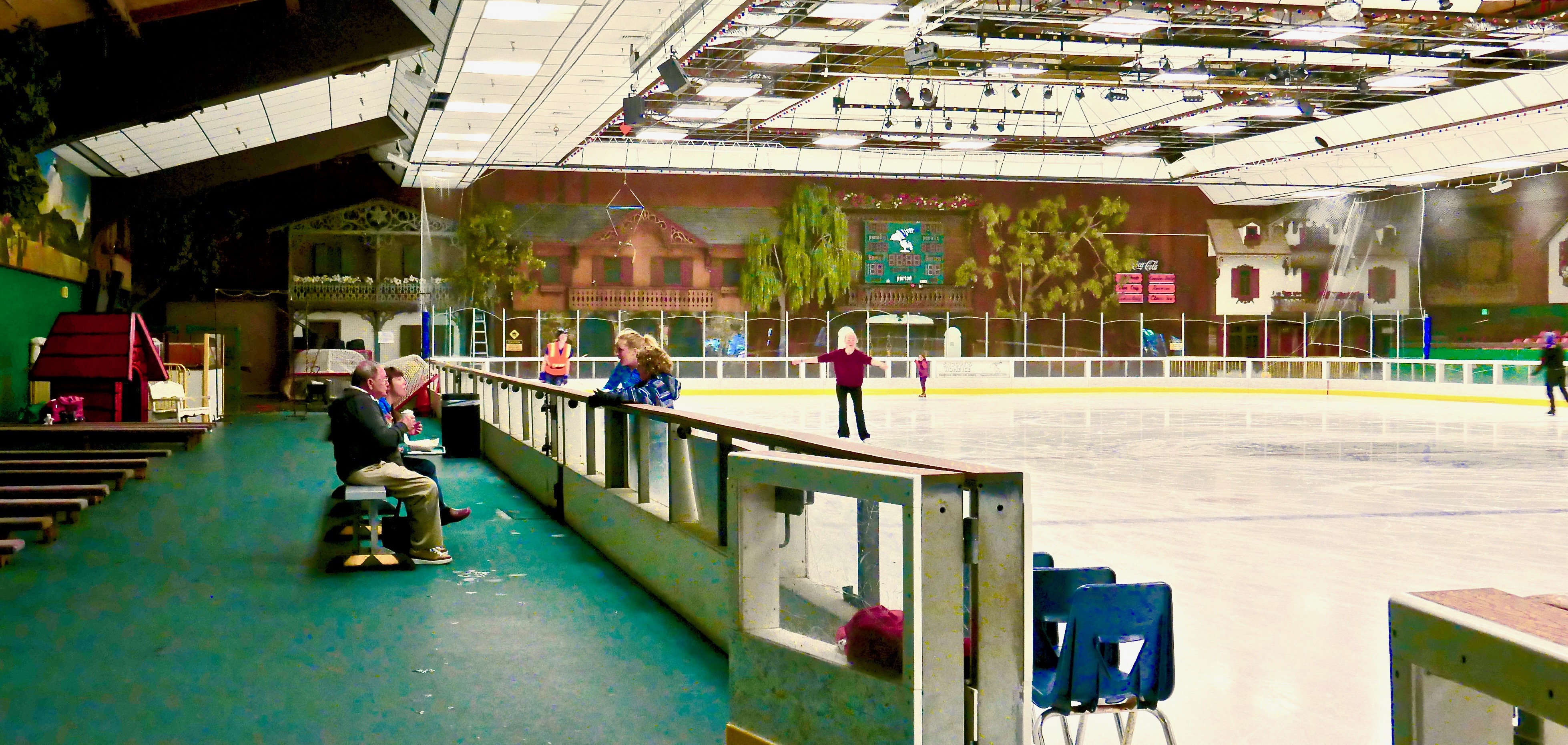 Snoopy's Home Ice Skating Rink