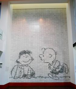 Peanuts Tile Mural