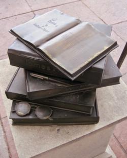 Sidewalk Book Stack