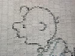 Peanuts Tile Mural (Close-Up)