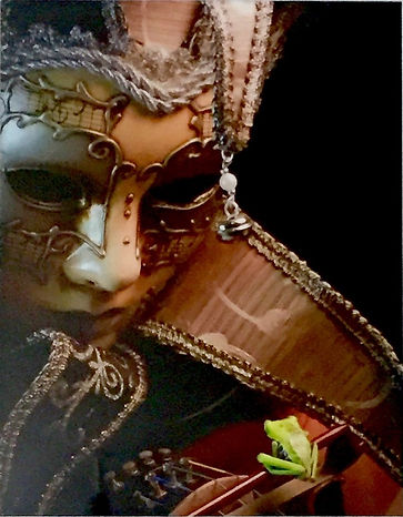 """This little bow frog comes to life in """"The Bow Frog"""" poem by Linda Eve Diamond. - Photograph by David Bowers"""