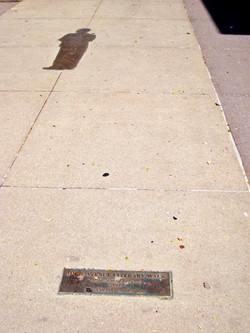 Iowa Avenue Literary Walk