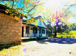 Sun Shining on the Cottage