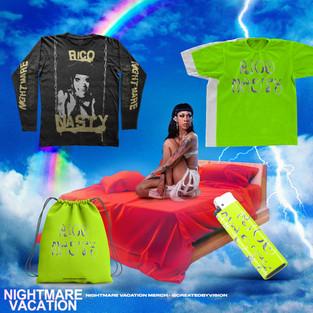 Rico Nasty 'Nightmare Vacation' Merch