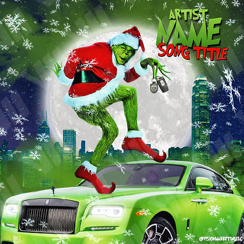 Premade Cover - Grinch Stole Christmas