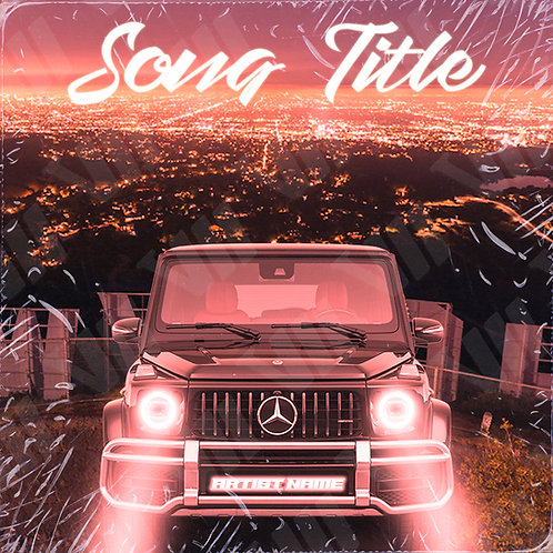 Premade Cover - Mercedes over Hollywood