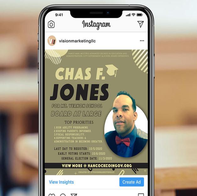 Chas F. Jones