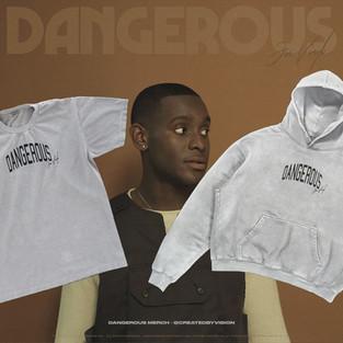 Jon Vinyl 'Dangerous' Merch