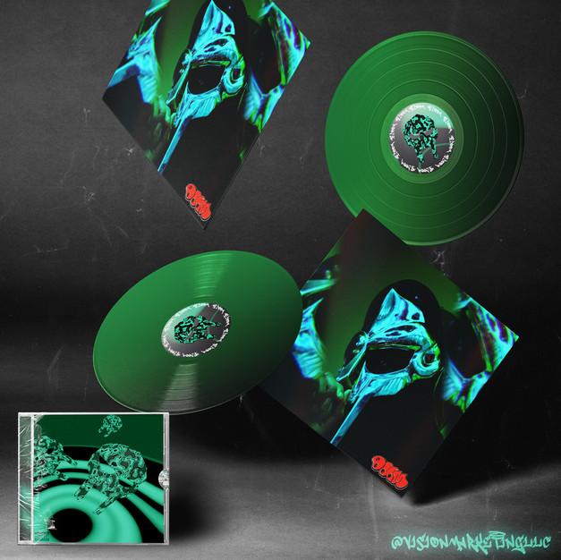 MF DOOM Vinyl Packaging Concept