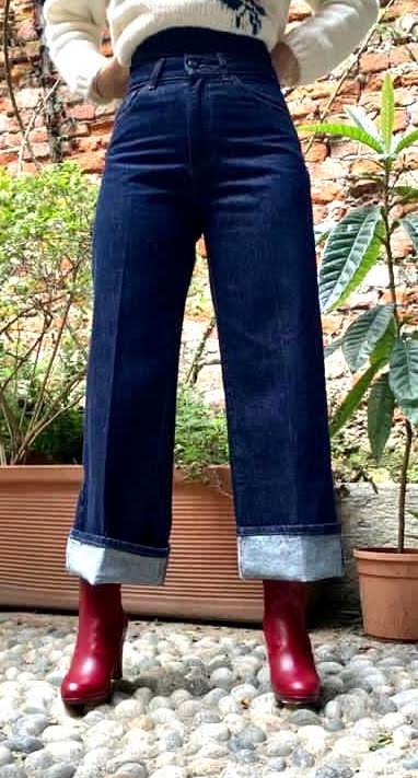 JEANS PALAZZO