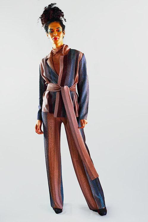 pantalone lurex/sconto 50%