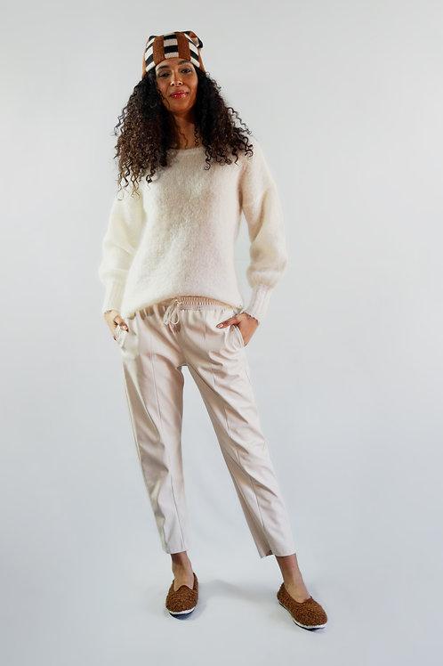 Pantaloni ecopelle/sconto 50%