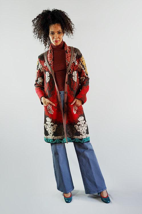 Cappotto in misto lana/sconto 50%