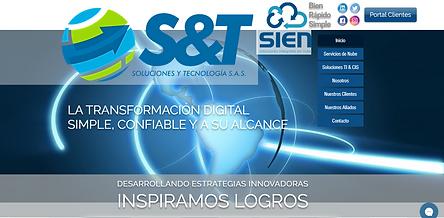 Página Web Soluciones y Tecnología S.A.S.