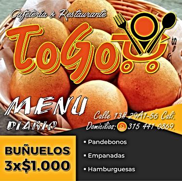 ToGo Post Bueñuelos