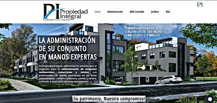 Página Web Propiedad Integral