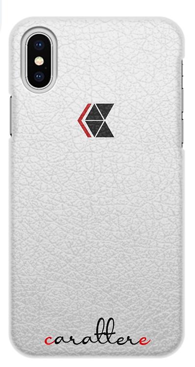 iPhone X чехол кожа