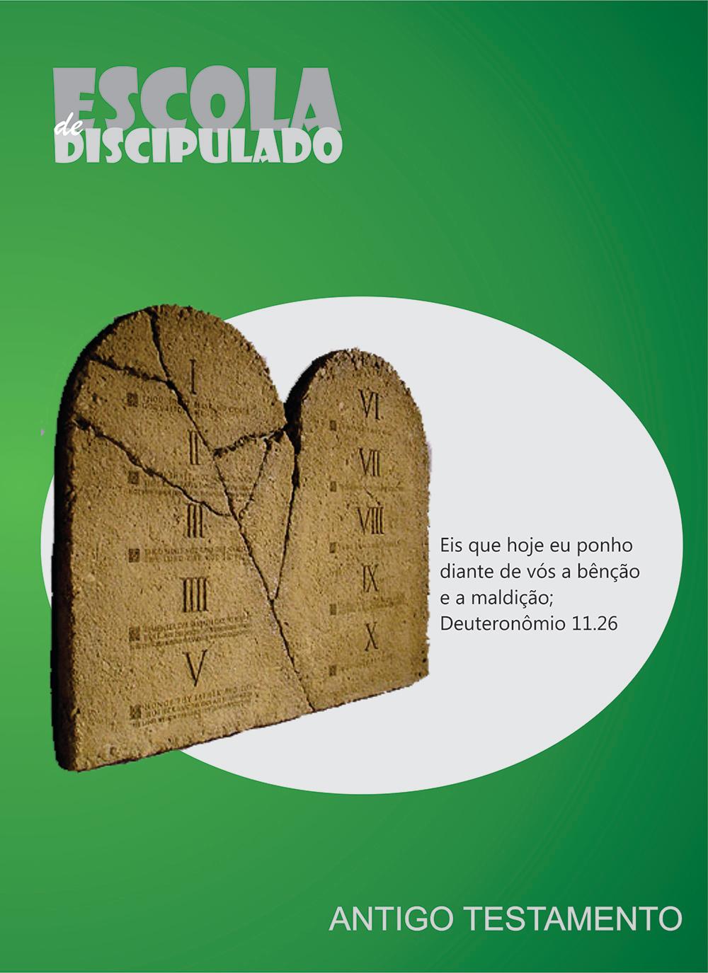 DISCIPULADO  - CAPA - ANTIGO TESTAMENTO
