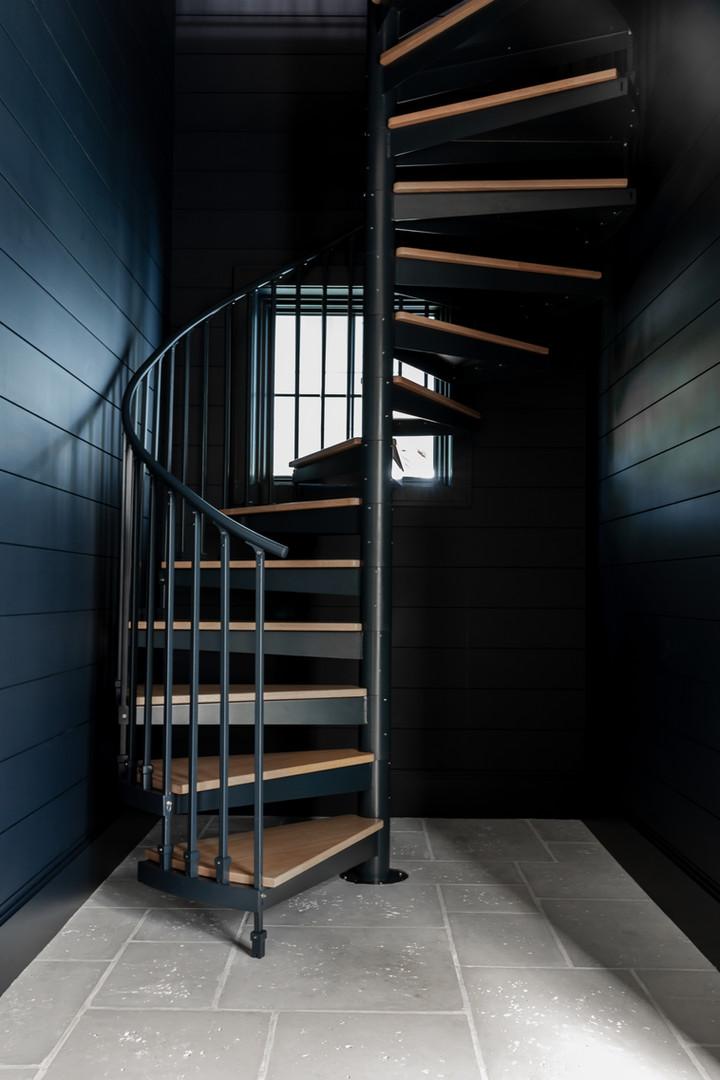 Lalique Pointe Spiral Staircase