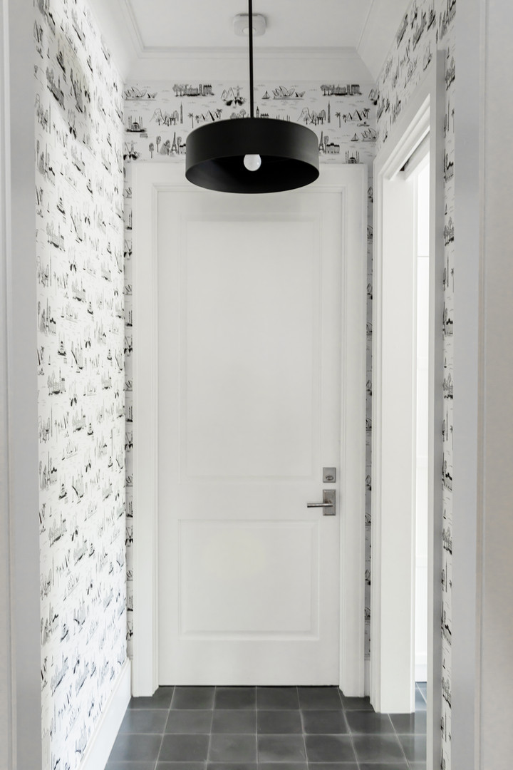 Lalique Pointe Mudroom Entrance