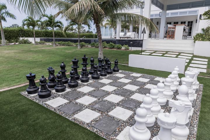 Lalique Pointe Outside Chess Board