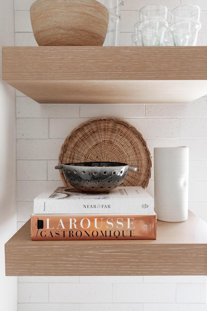 Lalique Pointe Kitchen bookshelf