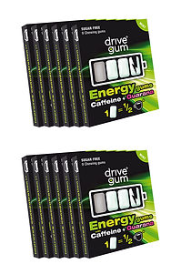 12 x packs DRIVE GUM