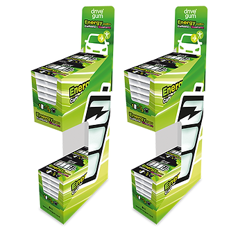 n2 big Display DRIVE GUM 48 paquetes