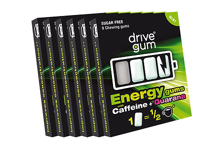 6er-Pack DRIVE GUM