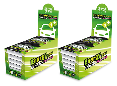 n2 Display DRIVE GUM  24 paquetes
