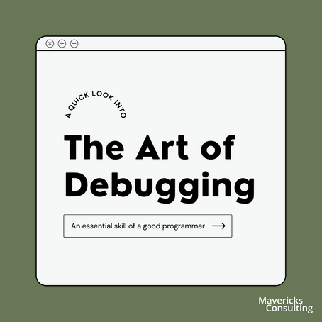 Debugging - an essential skill of a good programmer