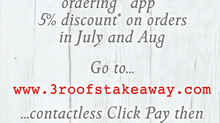The Three Roofs Takeaway App