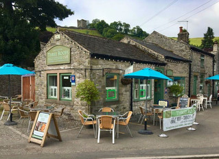 The Three Roofs Cafe now re-open to sit-down