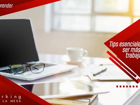 5 tips esenciales para lograr ser más disciplinado trabajando en casa.