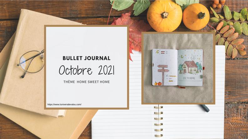 [Bullet Journal]  Octobre 2021