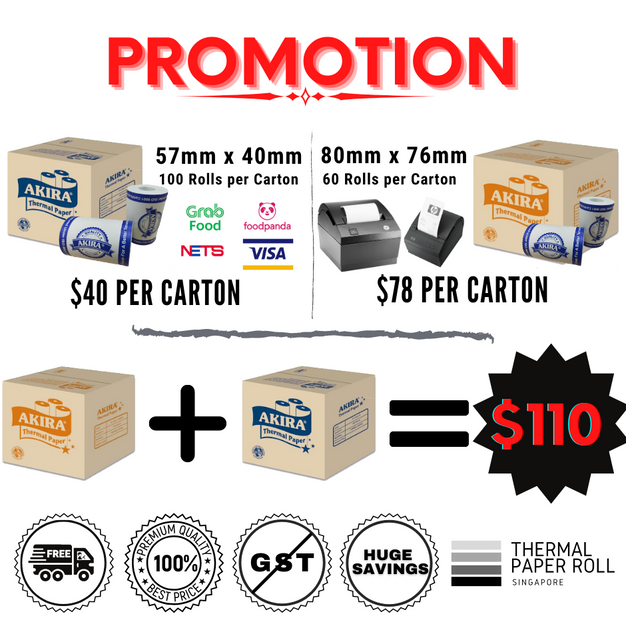 Promotion! More Savings! Free Delivery! No GST!