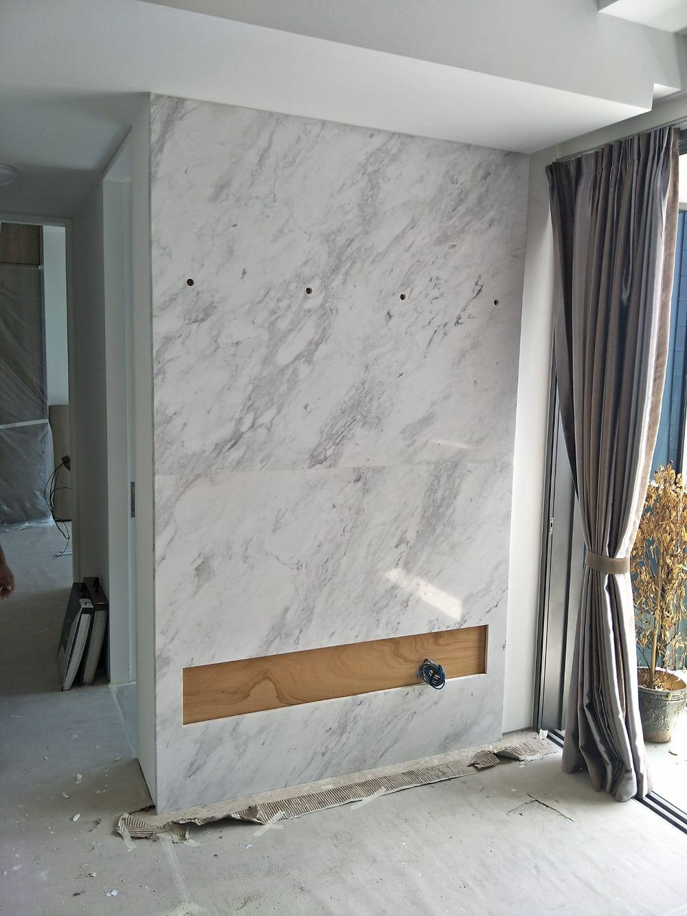 Marble Feature Wall Singapore