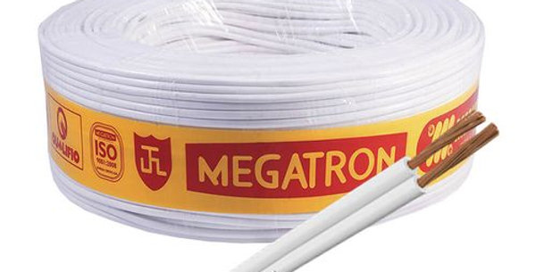 MEGATRON - FIO PARALELO BR 2X2,5 R/100M