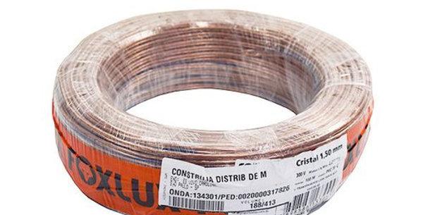 FOXLUX - FIO LUSTRE CRISTAL 2X1,50 (14) R/100M