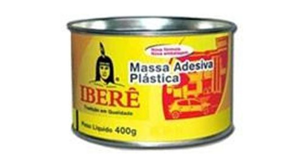 IBERÊ - MASSA PLAST 400G BR C/ CATALISADOR