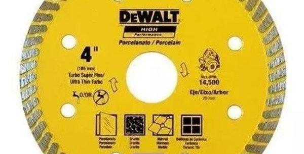 "DEWALT - DISCO DIAM PORCELANATO 4"" DW57400BH"