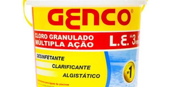 GENCO - CLORO GRANULADO 2,5KG 3 EM 1