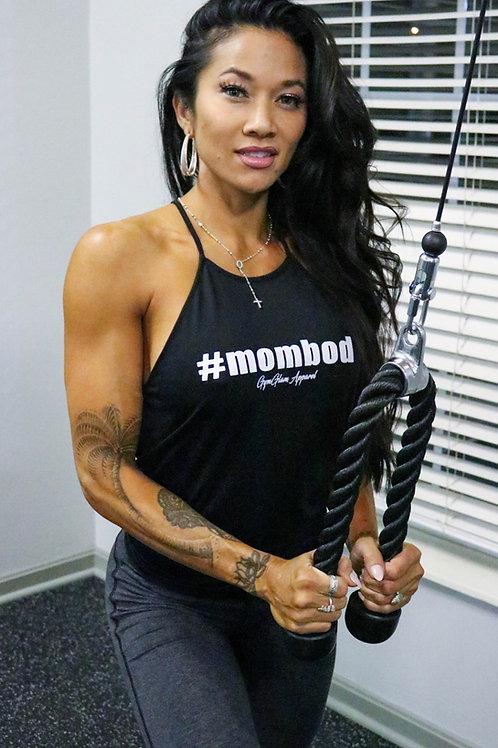 #MOMBOD High Neck Flowy Tank
