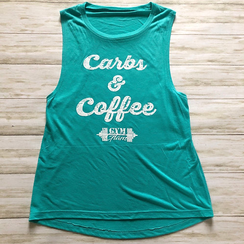 Carbs & Coffee Women's Muscle Tank