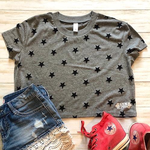 Stars Crop Tee