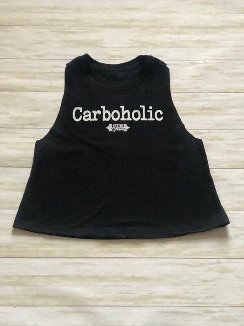 Carboholic Crewneck Racerback Crop