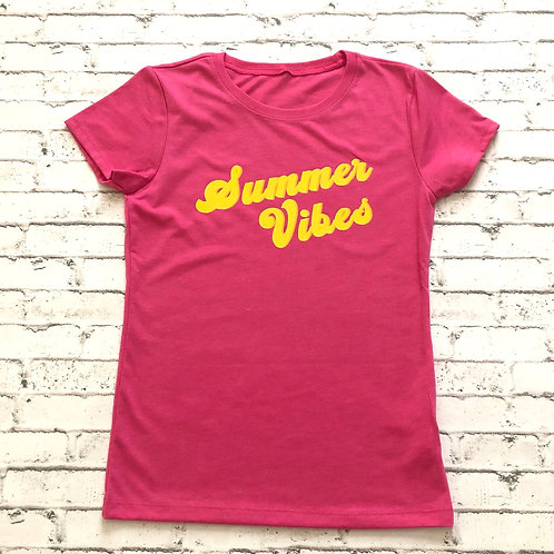 Summer Vibes Youth Tee