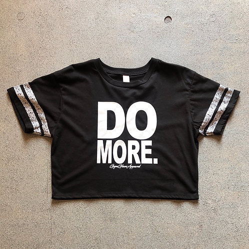 DO MORE Scorecard Cropped Tee