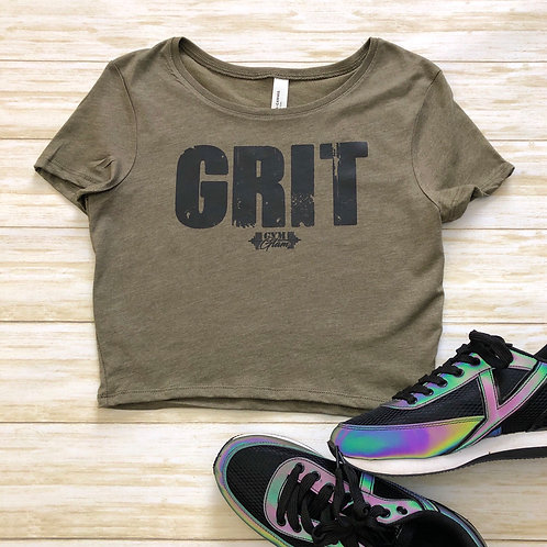 GRIT Cropped Baby Tee