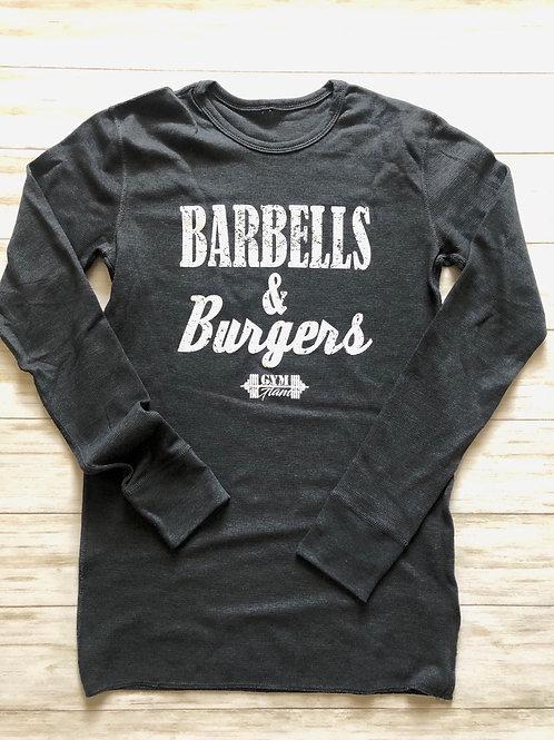 Barbells & Burgers Long Sleeve Unisex Thermal